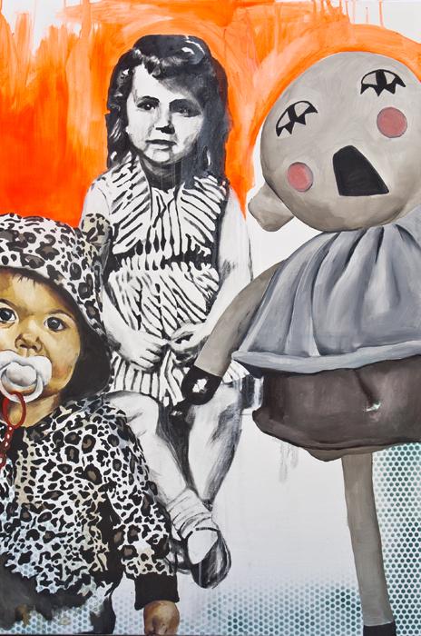 """""""Trío de Ases"""". 120x80. Mixta/Lienzo. 2012"""