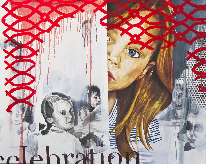 """Celebración"". 73x92. Mixta/Lienzo. 2012"